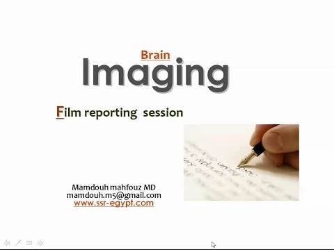 Brain Imaging reporting session (II) - Prof. Dr. Mamdouh Mahfouz (CRD 2019)