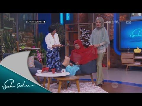 Sarah Sechan: Berbagi Tips Fashion Berhijab