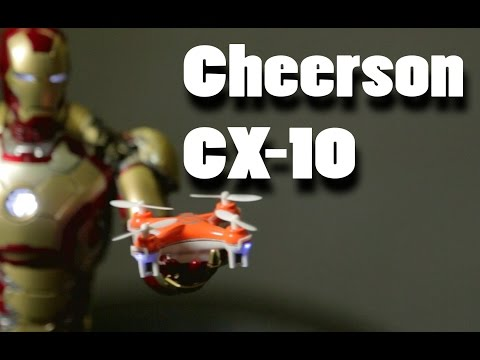 Cheerson CX-10 The World's Smallest Quadcopter!! Review in Action. - UCH6MbLEKxUPKK3y2uBreqDA