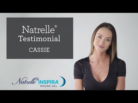 Breast Augmentation with Natrelle Round Gel, Cassie's Story