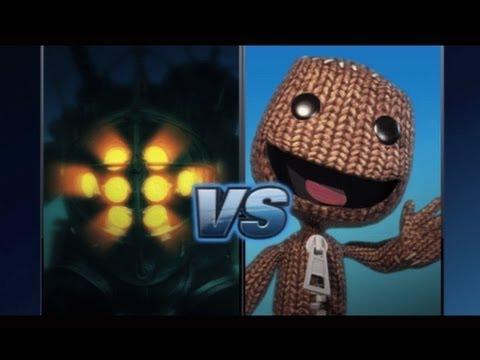 Big Daddy VS Sackboy - PlayStation All Stars - Story Mode - UCeabTobjyfVAupOnnc8npjw