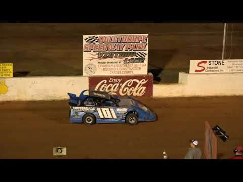 05/14/21 Mini Late Model Heat and Feature Races - Oglethorpe Speedway Park - dirt track racing video image