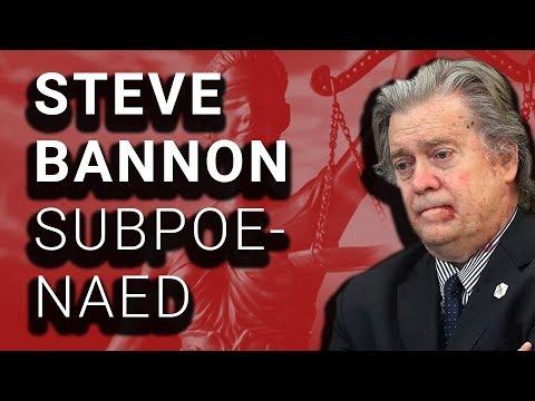 Steve Bannon Subpoenaed in Mueller's Russia Investigation
