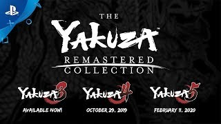 The Yakuza Remastered Collection | Announcement Trailer | PS4