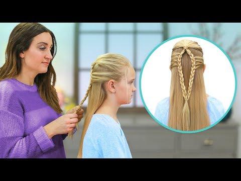 How to Create a Mermaid Loop Braid | Easy Braided Hairstyles