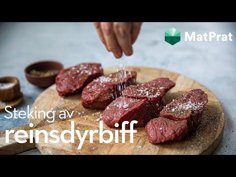 Steke reinsdyrbiff | MatPrat