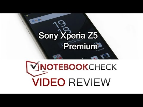 Sony Xperia Z5 Premium review and test. 4K screen, 2016.