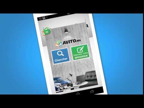 Télécharge l'appli Avito sur ton téléphone ou tablette