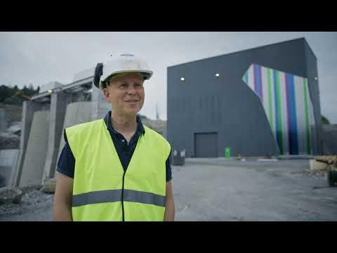 Norges største elvekraftverk Vamma 12 er ferdigstilt