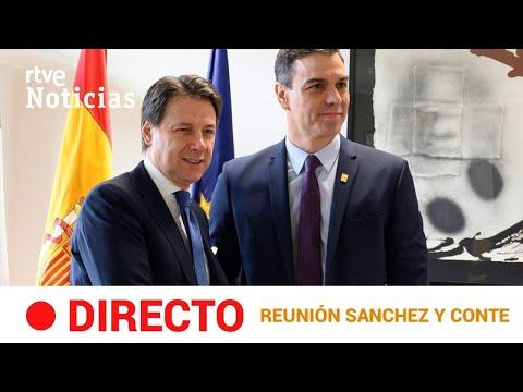 #DIRECTO 🔴 RUEDA DE PEDRO SÁNCHEZ y GIUSEPPE CONTE desde ITALIA | RTVE Noticias