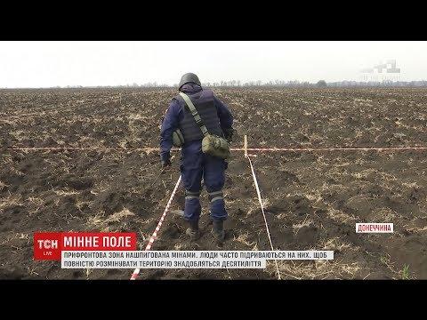 Розмінування територій Донбасу може затягтися на десятиліття