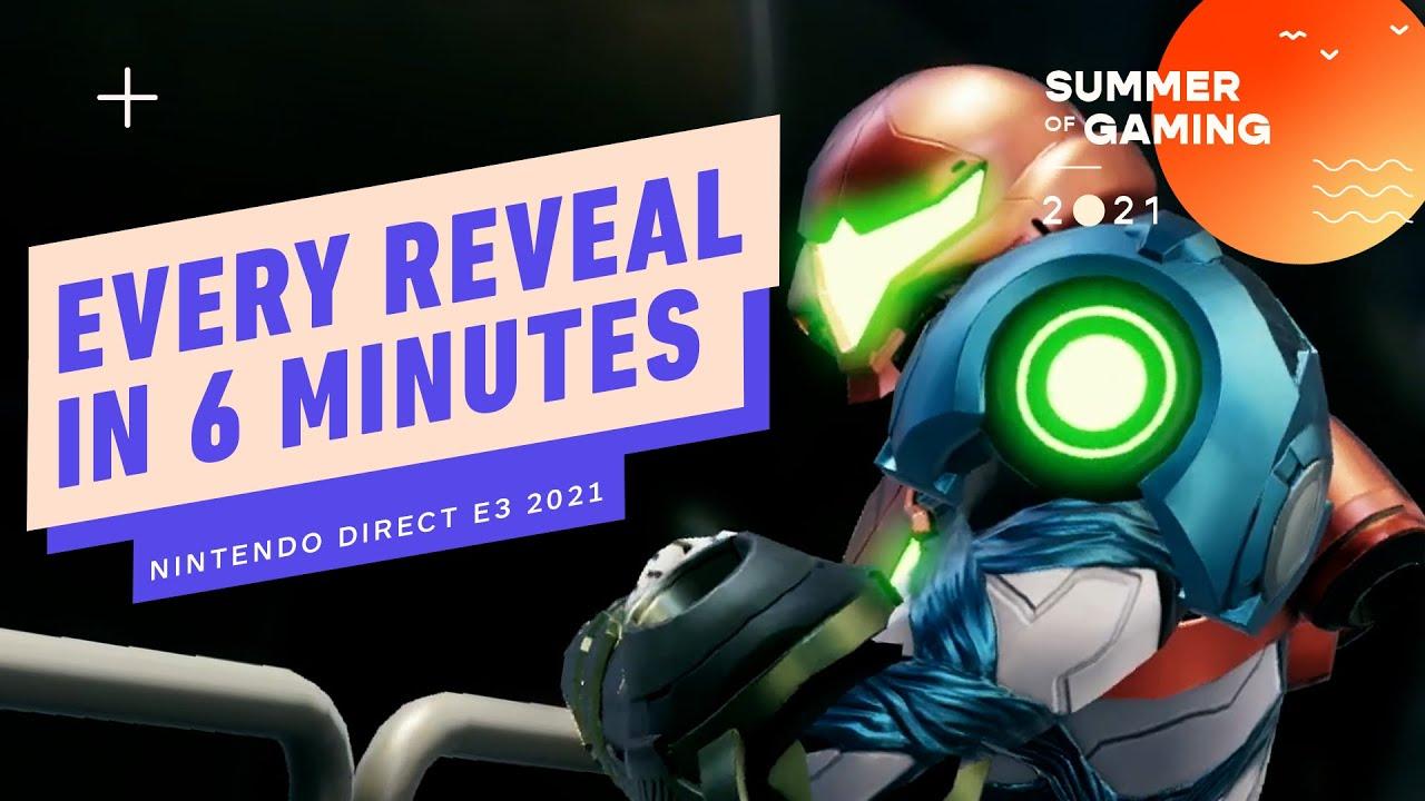 Nintendo E3 Direct in 6 Minutes – E3 2021