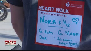 Walking to support the American Heart Association of South Dakota