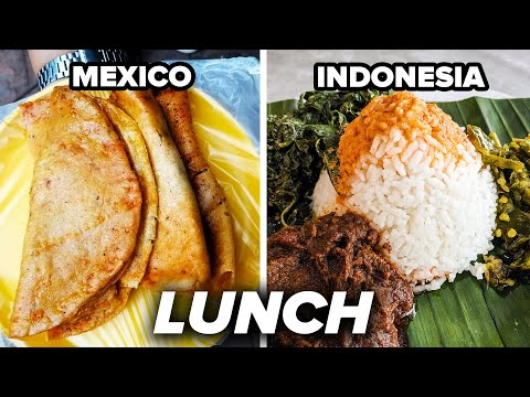 Eating Lunch To Go Around The World