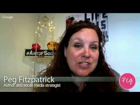 Peg Fitzpatrick Talks Social Media Strategy Tips with Lisa Buyer