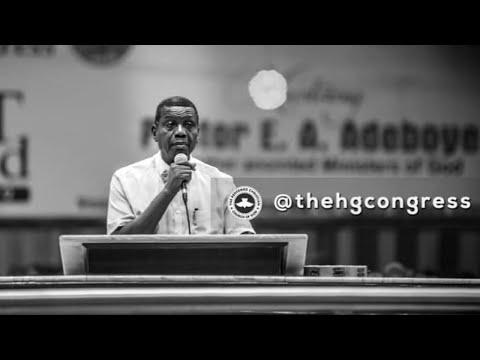 PASTOR E.A ADEBOYE SERMON - RCCG CONGRESS 2019 - DESPERATE PRAYERS