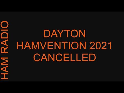 Dayton Hamvention 2021 Cancelled