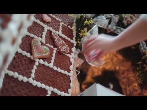 The making of our gingerbread house