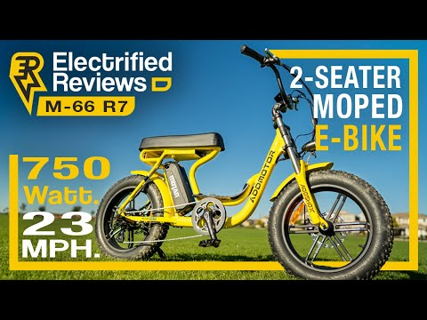 AddMotoR M-66 R7 review: MOPED CRUISER electric bike with style