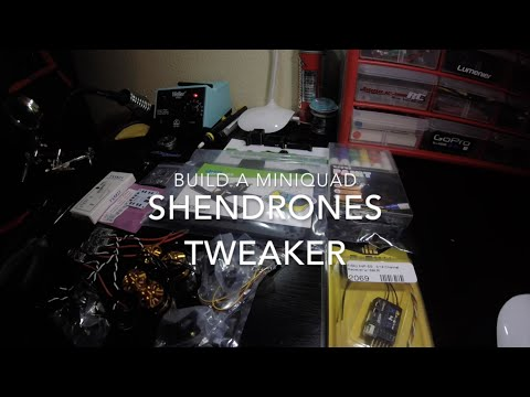 BUILD A MINIQUAD: SHENDRONES TWEAKER // Corvette Red / 180mm Brushless FPV Quadcopter - UCNSUeRB4hUoCYlnTubLO84A