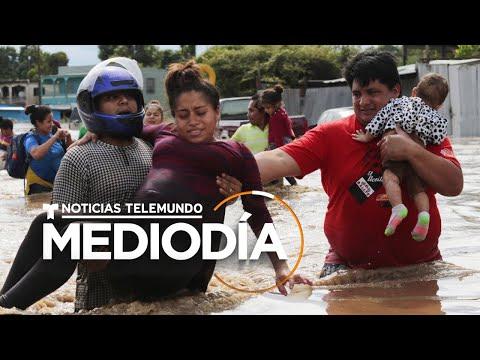 Miles de damnificados en Honduras enfrentan las secuelas del huracán Eta