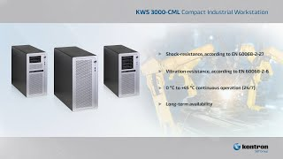 KWS 3000 CML - Powerful workstation for machine learning and AI workflows