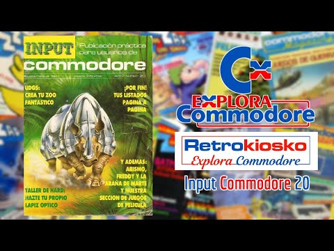 Retrokiosko Explora Commodore #13 - Input Commodore 20