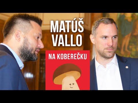Matúš Vallo na Koberečku