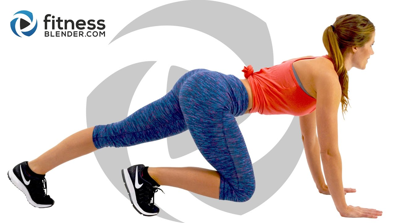Brutal HIIT Cardio and Strength Butt and Thigh Workout – Burn Fat, Build Lean Muscle (Bored Easily)