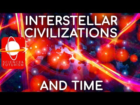 Interstellar Civilizations & Time - sci-fi