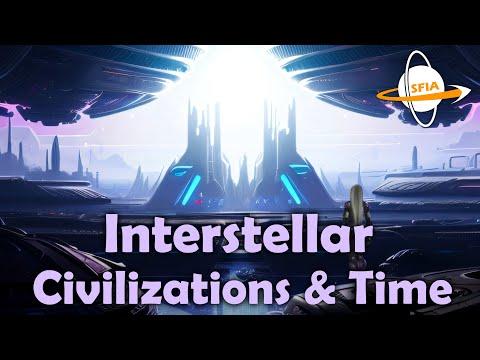 Interstellar Civilizations & Time - sci-fi