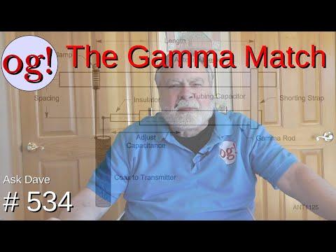 The Gamma Match (#534)