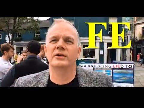 Globe Lie Euro Tour Cardiff Day 13 Mark Sargent Street Activism ✅ (mirror)
