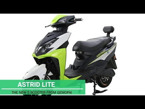 Astrid Lite -Electric Scooter from Gemopai