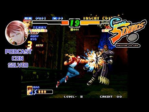 """[BIS] THE KING OF FIGHTERS 2000 (LEVEL 8) (PODCAST CON SILVIO) - """"CON 5 DUROS"""" Episodio 315 (1cc)"""