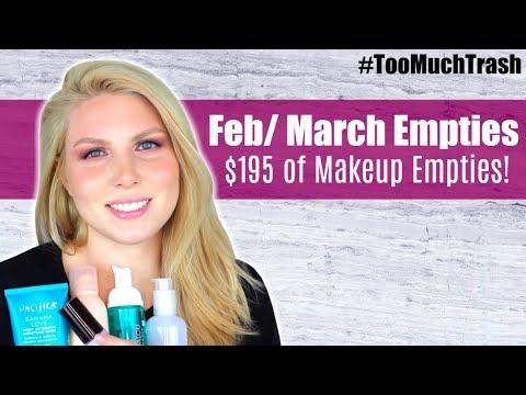 Beauty Empties | Feb-March | $195 of Makeup Empties! - UCAEyHtzn-1KTY0cVVIzSdxA
