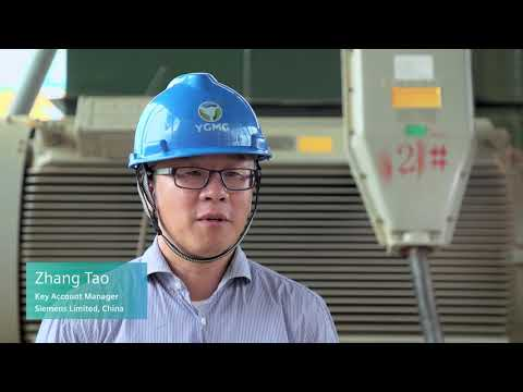 Beiya Gold Mine in China – Outstanding large drives performance, delivered by Siemens