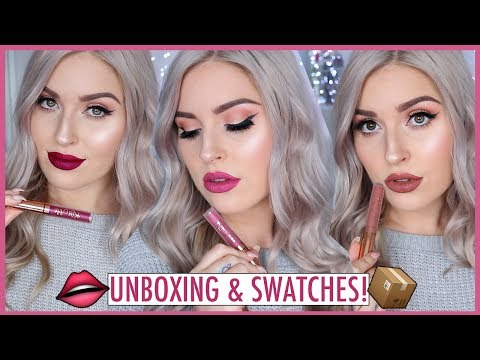 Subscription Box Unboxing! ?? Affordable LIQUID LIPSTICK Swatches & Review