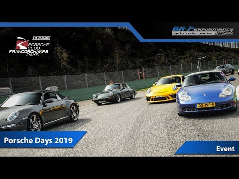 ▪️ #PCFD19 //▪️ PORSCHE CLUB FRANCORCHAMPS DAYS 2019 ▪️By BR-Performance