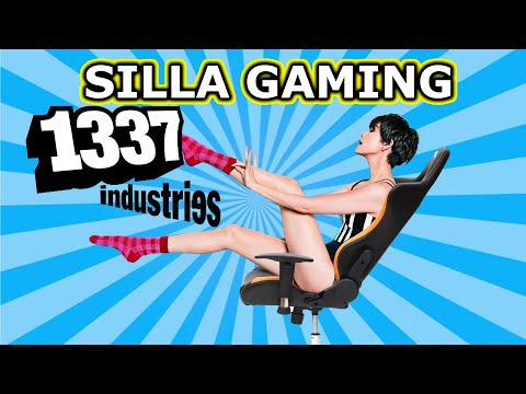 UNBOXING Y MONTAJE SILLA GAMING 1337 INDUSTRIES