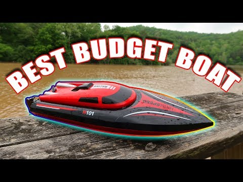 BEST RC BOAT Under $60!!! - FAST and 2 Batteries - TheRcSaylors - UCYWhRC3xtD_acDIZdr53huA
