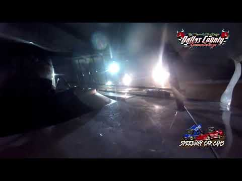 #84 Dayton Newell - B Mod - 7-2-2021 Dallas County Speedway - In Car Camera - dirt track racing video image