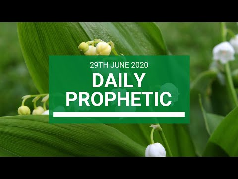 Daily Prophetic 29 June 2020 5 of 7
