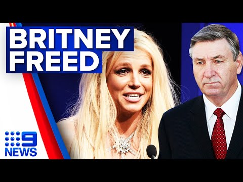 Britney Spears' father removed from conservatorship | 9 News Australia