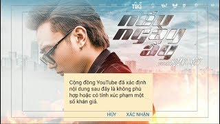 """Soobin Hoàng Sơn làm gì khi MV """"Nếu ngày ấy"""" bị YouTube giới hạn người xem"""