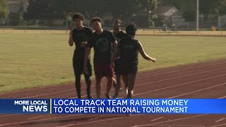 Local track team raising money to compete in national tournament