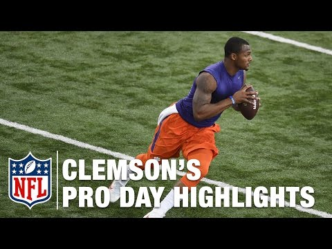 Clemson Pro Day: Deshaun Watson and Mike Williams Highlights & Draft Analysis | NFL