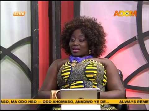 Odo Ahomaso on Adom TV (25-8-16)
