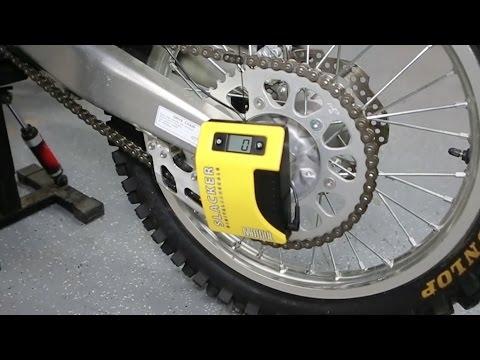 House Call | Motool Slacker Digital Sag Scale | TransWorld Motocross