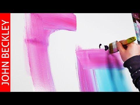 Cours de peinture abstraite – Desire
